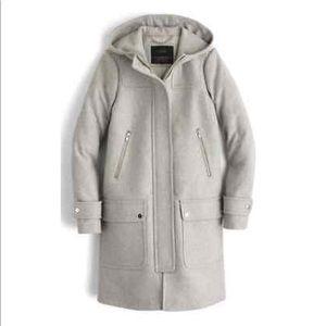 Wool Melton Duffle Coat